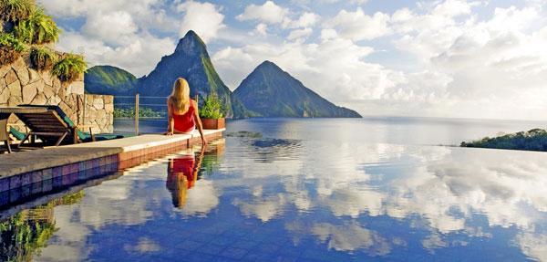 Jade Mountain American Express Fine Hotels Reosrts
