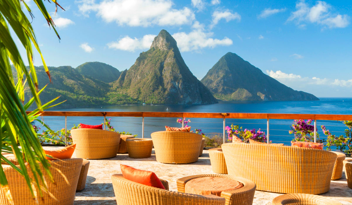 jade mountain - romantic luxury st lucia resort