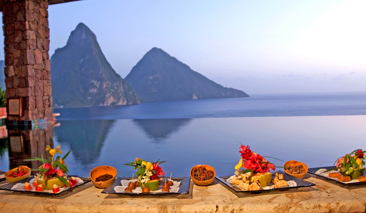 Special Culinary Events At Jade Mountain