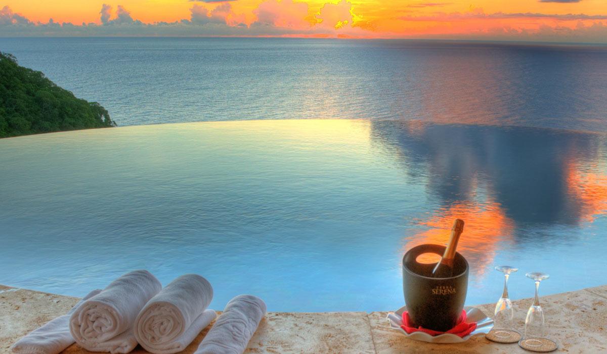 Jade Mountain Romantic Luxury St Lucia Resort