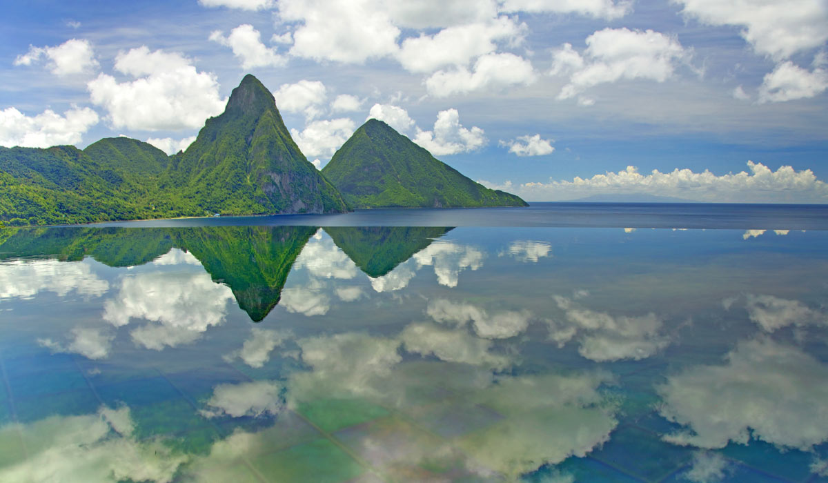 Jade Mountain St Lucia S Most Romantic Luxury Resort