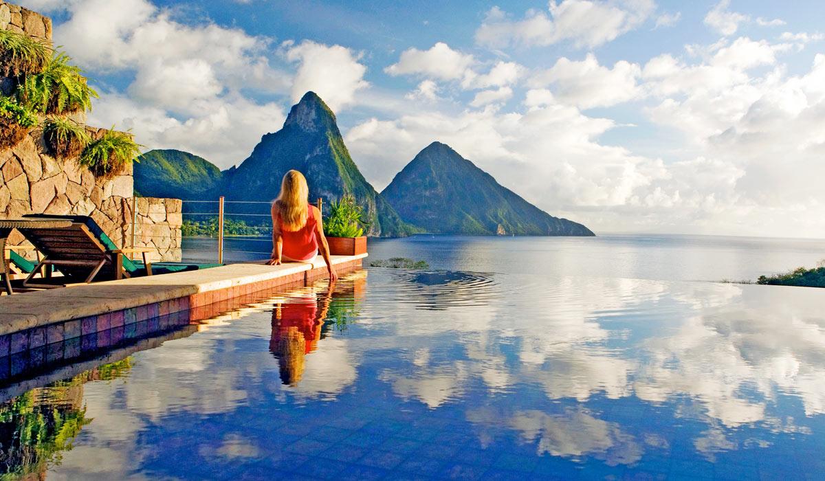jade mountain - romantic luxury st lucia resort
