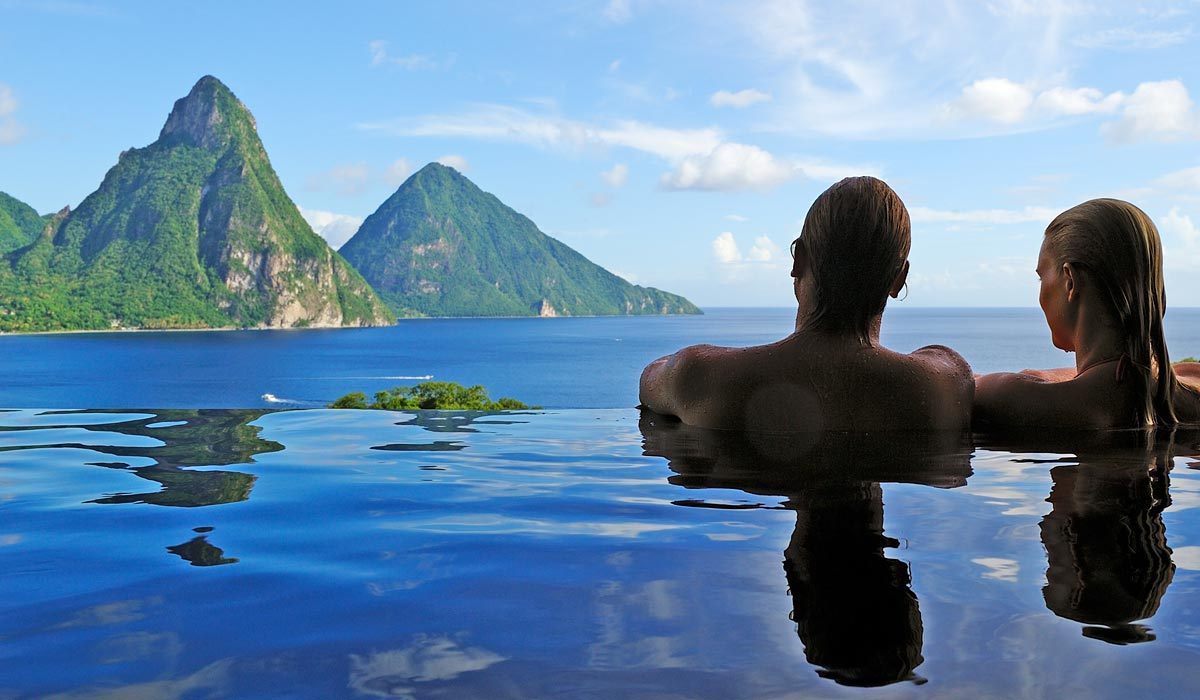 jade mountain - luxury st lucia accommodation