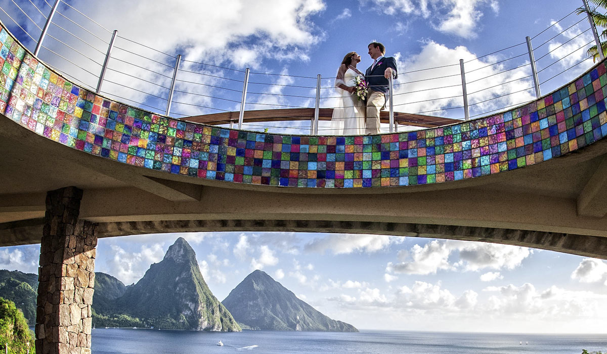 Jade Mountain Weddings Honeymoons