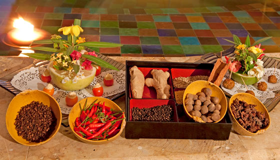 Spices of the Caribbean festival at Jade Mountain