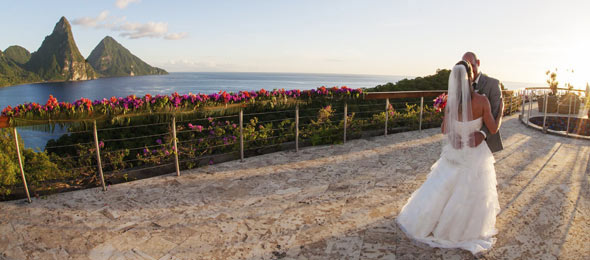 Jade Mountain Weddings & Honeymoons - The Great Escape
